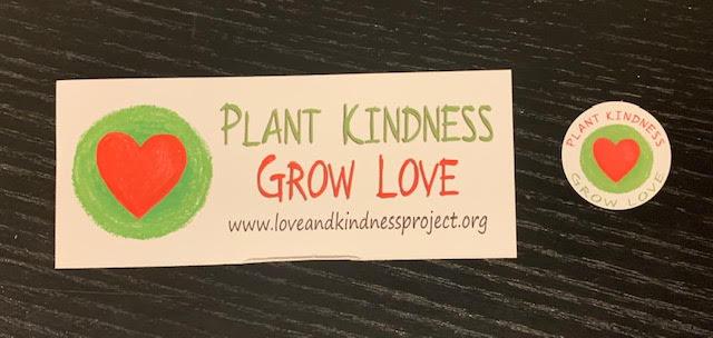 Plant Kindness – Grow Love Sticker Packs