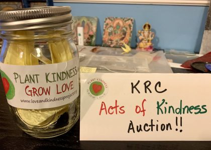Congratulations to the winners of the 'Acts of Kindness' Auction!