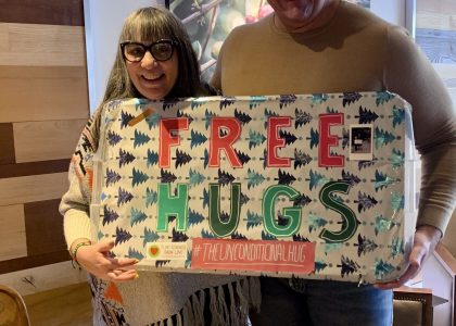 Visit with 'The Unconditional Hug'!