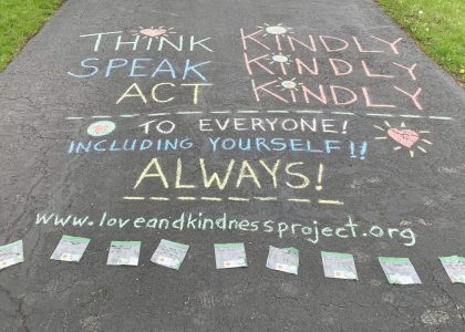 COVID-19 Pop Up Kindness Stand…in my Driveway!