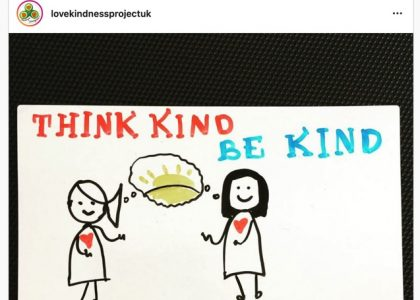 Introducing…The Love and Kindness Project UK Instagram Account!