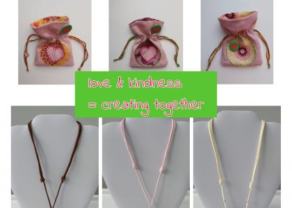 Love and Kindness Forest Necklaces