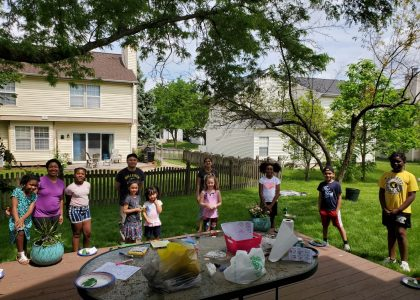 Back Yard Kids Summer Kindness Event – Social Distance Style!