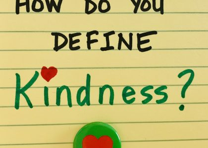 What's Your Definition of Kindness?