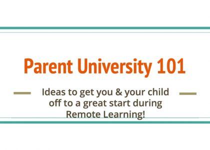 Covid-19 Parent University: Download Free Presentation of Helpful Hints!