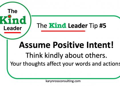 The Kind Leader Newsletter #5