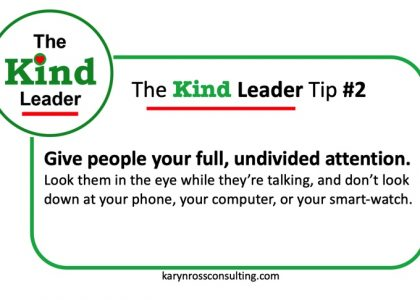 The Kind Leader Newsletter #2
