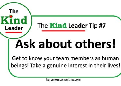 The Kind Leader Newsletter #7