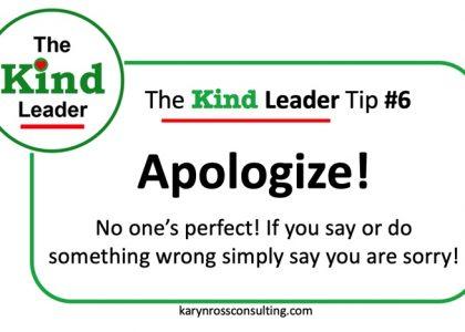 The Kind Leader Newsletter #6